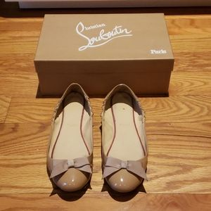 Authentic Christian Louboutin Flats